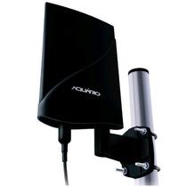 Antena Externa Aquário Dtv-5600 Uhf Vhf Fm Hdtv Amplificada