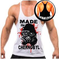 Camiseta Regata Super Cavada Masculina Academia Musculação