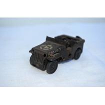 Antigo Brinquedo Jeep De Lata -england