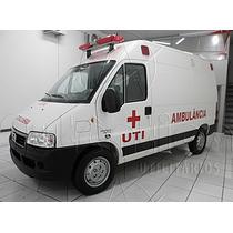 Fiat Ducato Ambulância Uti 10 M³