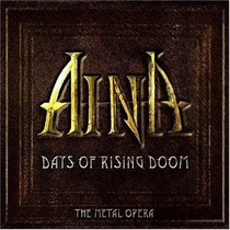 2cd+dvd Aina Days Of Raising Doom Metal Opera