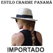 Chapéu Estilo Panamá Moda Carioca Caribenha Promoção