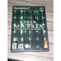 Enter The Matrix ( Jogo Original Ps2 )