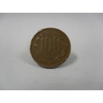 Moeda 100 Pesos 1998 Chile Usada
