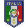 Tiit024 Seleção Itália 2006 5,8x8,5cm Escudo Patch Bordado
