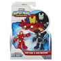 Marvel Super Hero Adventures Iron Man & War Machine Hasbro
