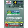 Apostila Digital Pref De Capanema Assistente Administrativo