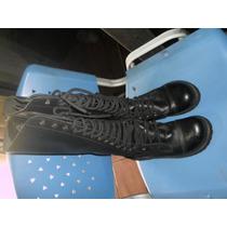 Coturno Vilela Boots Semi Nove Em Bem Conservado
