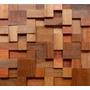 Mosaico De Madeira Para Revestimento- Frete Gratis