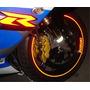 Friso Adesivo Refletivo Curvo Moto + Brindes + Frete Grátis
