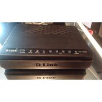 Modem Wireless Router D-link Dsl-2730r + Fonte + Microfiltro
