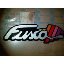 Emblema Fusca Itamar Tampa Motor Original Lacrado
