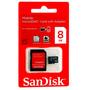 Cartão De Memória 8gb Micro Sd Sdhc Sandisk - Frete Grátis