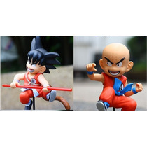 Dragon Ball Z Kuririn E Goku-original 2 Bonecos