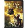 Fúria De Titãs Dvd Novo Original E Lacrado
