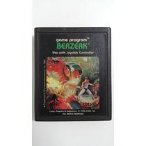 Jogo Atari 2600 Berzerk Cartucho Fita Dactar