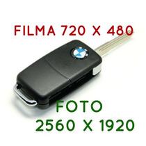 Chave Filmadora Espiã 720x480, Bmw. Sensor Movimento