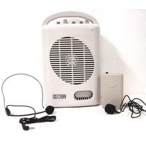 Kit Professor Csr T221 C/ Usb Microfone S/ Fio E Fm + Bolsa