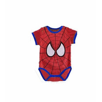 Macacão Fantasia Body Infantil Homem-aranha Spider Man