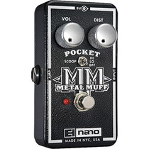 Pedal Electro Harmonix Nano Pocket Metal Muff Distortion