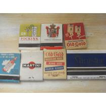 Lote Com 7 Caixas De Fósforos Antigas Temática Anos 50 E 60