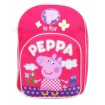Mochila Infantil Rosa Peppa Pig 2 A 5 Anos Pronta Entrega