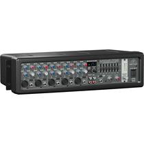 Mesa De Som Amplificada Behringer Pmp518 Mixer Europower