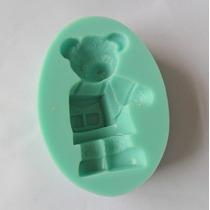 Molde De Silicone Urso Biscuit