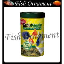 Ração Tetra Veggie Spirulina Flakes 160g Fish Ornament