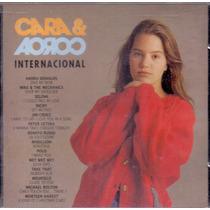 Cd Cara & Coroa - Trilha Sonora Internacional - Novo***