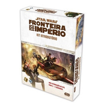 Star Wars - Rpg Fronteira Do Império: Kit Introdutório