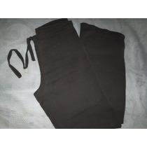 Calça Pantalona Crepe De Seda Tamanho 40