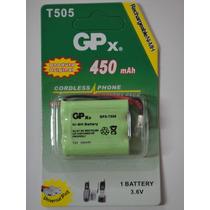 Bateria Telefone S/ Fio Gp-t505 - 3.6v 450mah - Promoção