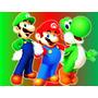 Kit Festa Super Mario Luigi Yoshi Goomba Bullet Bill Bob-om