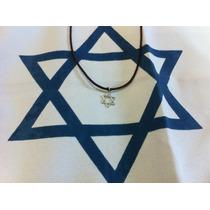 Cordão Estrela De David - Hamsa - Infinito - Frete Grátis