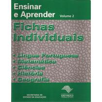Ensinar E Aprender Vol. 2 Fichas Individuais