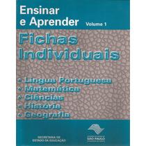 Ensinar E Aprender Vol. 1 Fichas Individuais