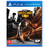 Infamous Second Son - Ps4 Português Pronta Entrega