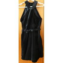 Vestido Veludo Preto 38 - Folic
