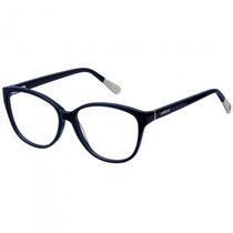 Armação Óculos Grau Colcci 555826554 Feminino Azul- Refinado