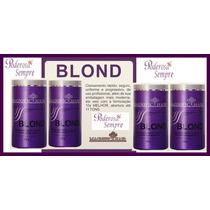 4 Unidades D Pó Descolorante 500g Magnific Hair Frete Gratis