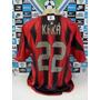 Camisa Ac Milan Ita Nº22 Kaka Tam. Gg Original Adidas Nova