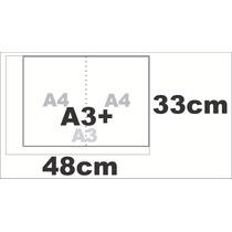 1000 Folhas Papel Sulfite A3+ 75g/m 48x33cm + Barato Do Ml