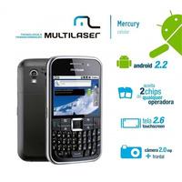 Celular Multilaser Mercury Dual Chip, 2mp, Android 2.2,wifi