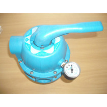 Válvula Multi Vias (azul) Para Filtros Sodramar