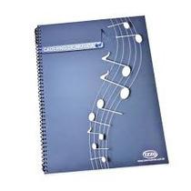 Caderno Espiral De Musica Grande Izzo