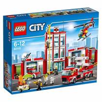 Lego City Fire Station 60110 Quartel Dos Bombeiros