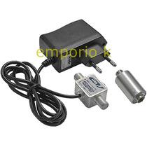 Mini Booster Uhf E Vhf 26db Digital Analogico Ideal Para Hd