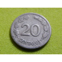 Moeda Do Equador De 20 Centavos De 1946 (ref 482)