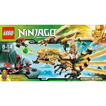 Lego Ninjago 70503 The Golden Dragon 252pçs